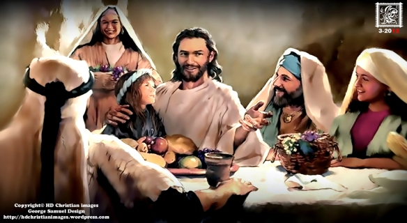 Jesus dinner HD Christian Images a new dimension of Christian images George Samuel design